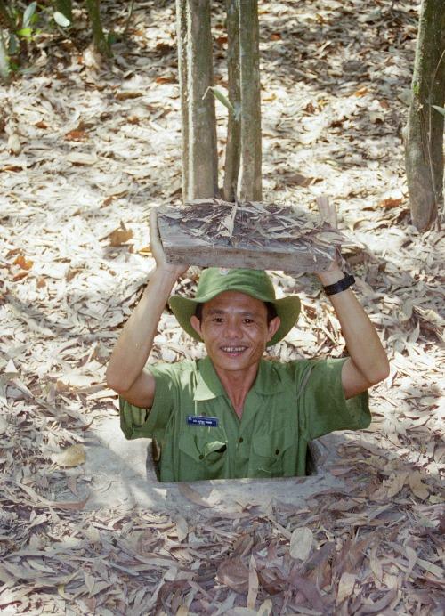 Cu Chi tunnels Ho Chi Minh Vietnam
