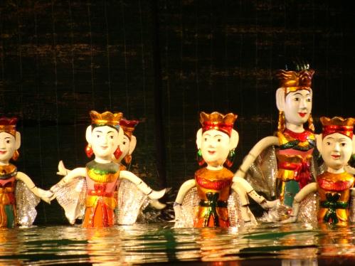 Water poppen show Hanoi