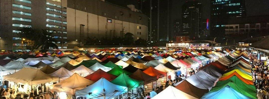 The new rot fai market ratchada Bangkok
