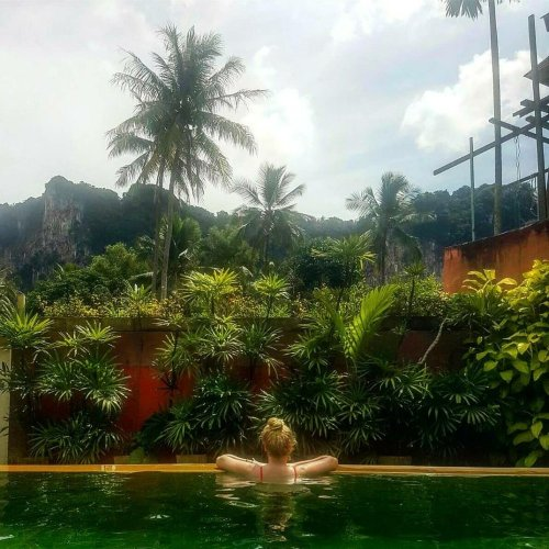Jungle zwembad Ao Nang, Krabi