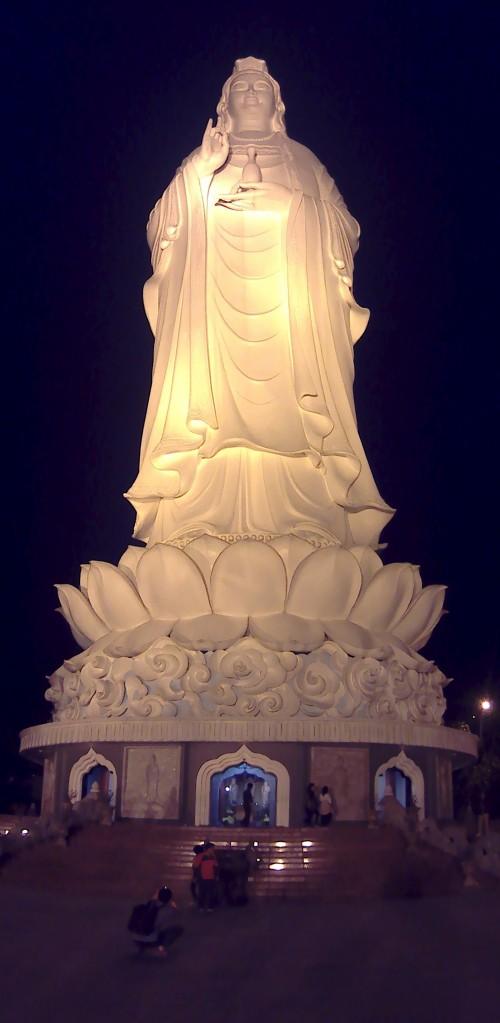 The Big Lady Buddha Da Nang