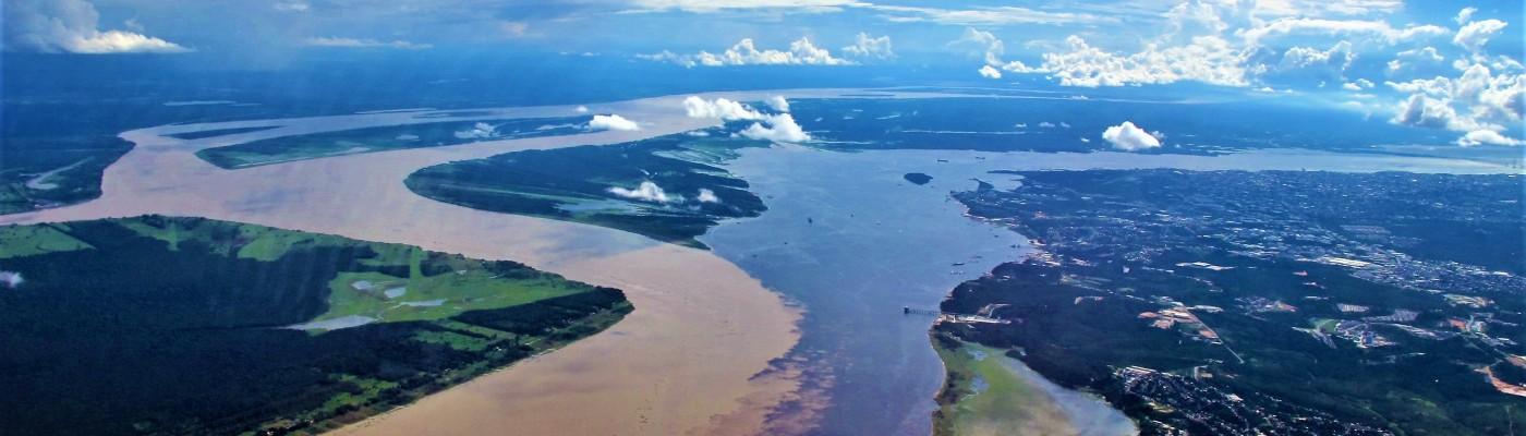Meeting of waters Manaus