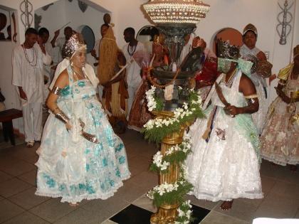 Candomblé ritueel Salvador de Bahia