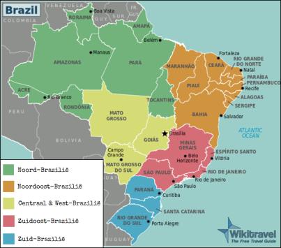 Regio's Brazilië