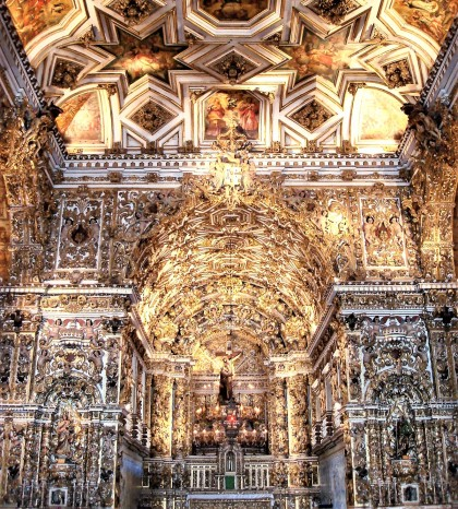 Sao Francisco Kerk Salvador Brazilië