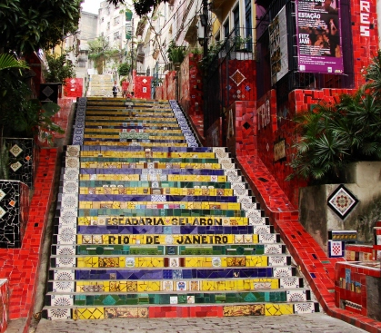 Escadaria Selarón trappen