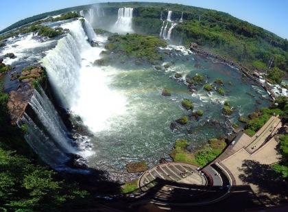 Iguazu watervallen Brazilië