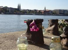 Schoenen op de Donaukade Boedapest