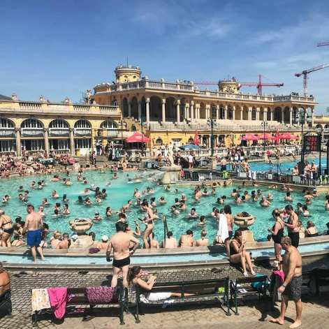 Széchenyibad Boedapest buitenbad