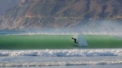 Surfen in Durban Zuid-Afrika