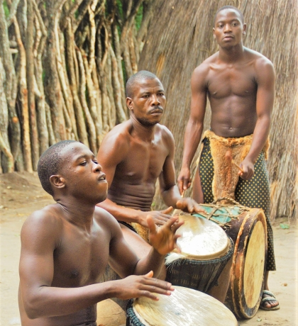 Zoeloe kamp Zuid-Afrika